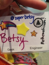 My Science Hack Day badge