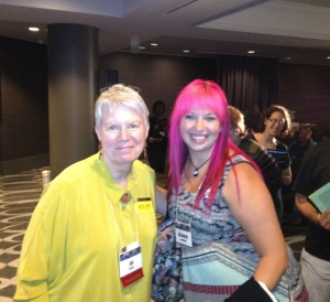 This is Jill Tarter, the woman on whom Ellie is based.
