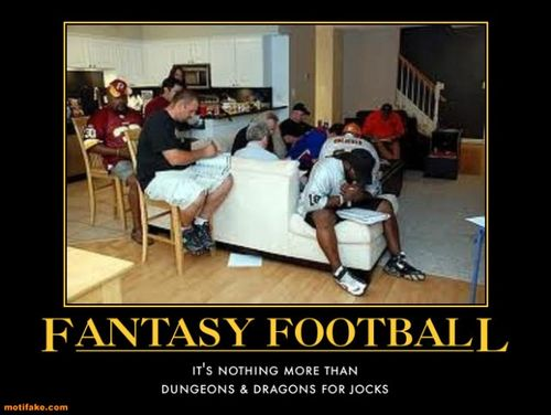 Fantasy Football, D&D